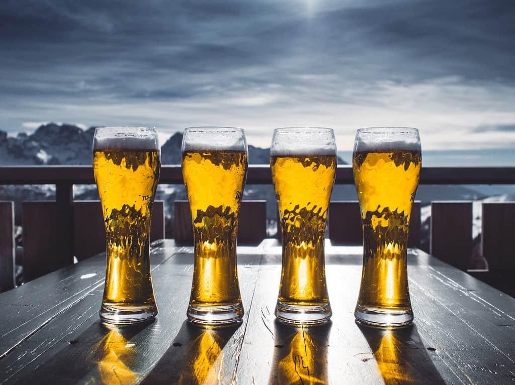 Beer Legends Pub Pint Glass Set