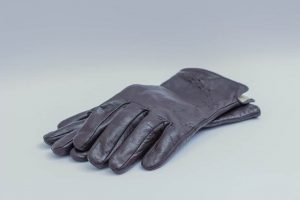 Womens Lambskin Leather Gloves With Cashmere Lining