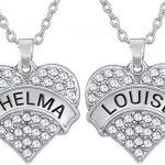 Thelma and Louise Friendship Necklace
