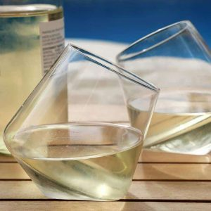 Wine Legend Stemless Wine Glass Sets