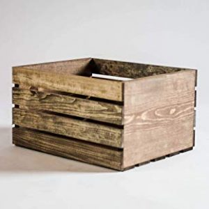 Branded Reclaimed Wooden Crate