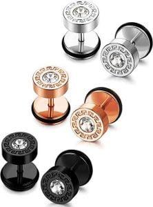 Bourbon Boots Bullet Stud Earrings