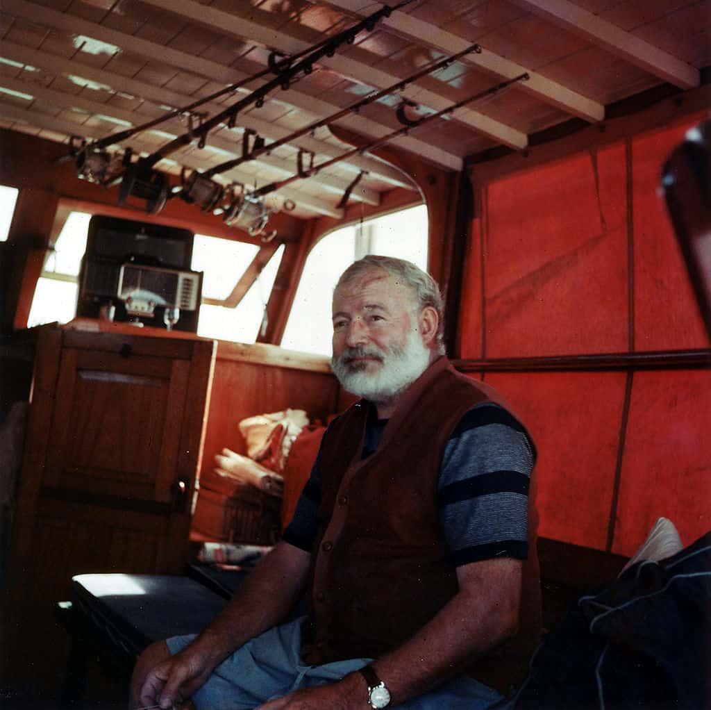 Ernest Hemingway Quote Print