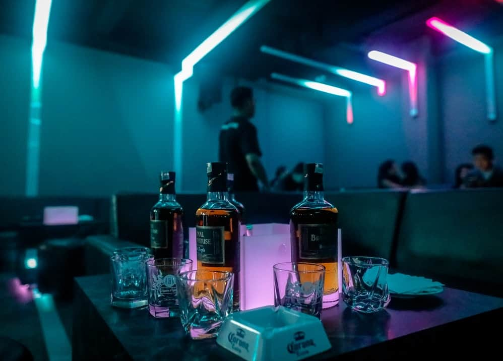 bottle on table: Benefits of Getting Bottle Service