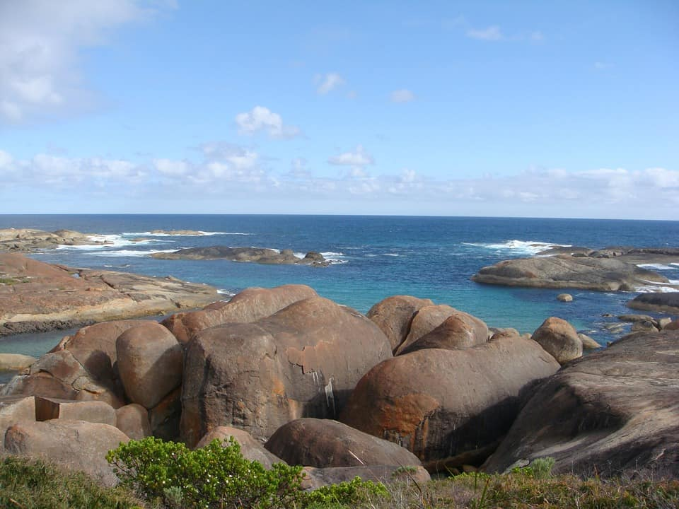 elephant rocks Australia