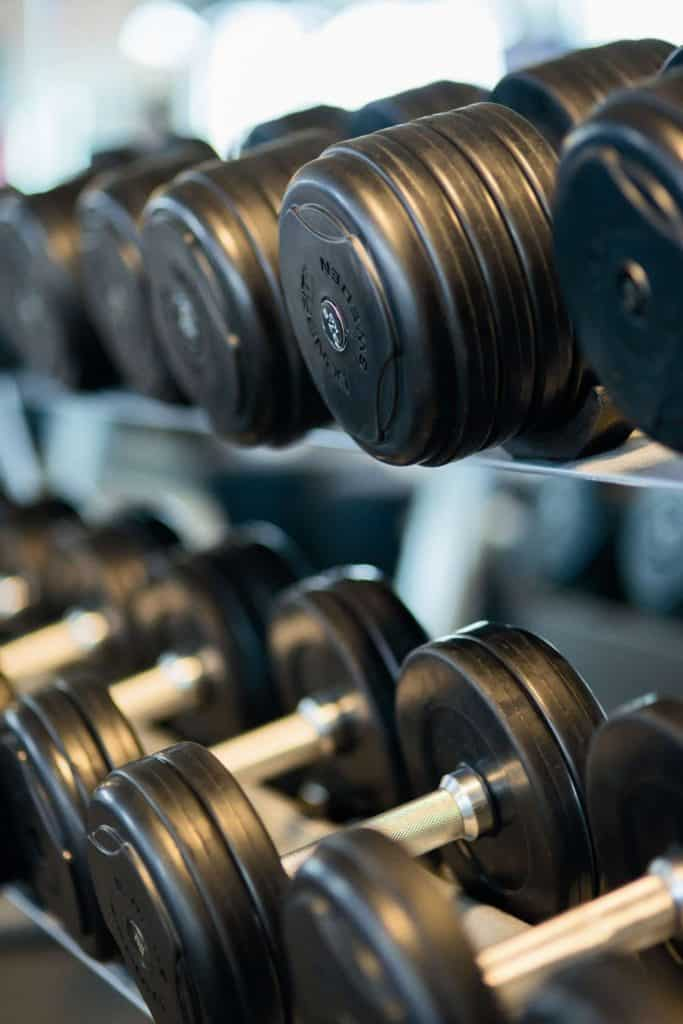 Dumbbells equipment