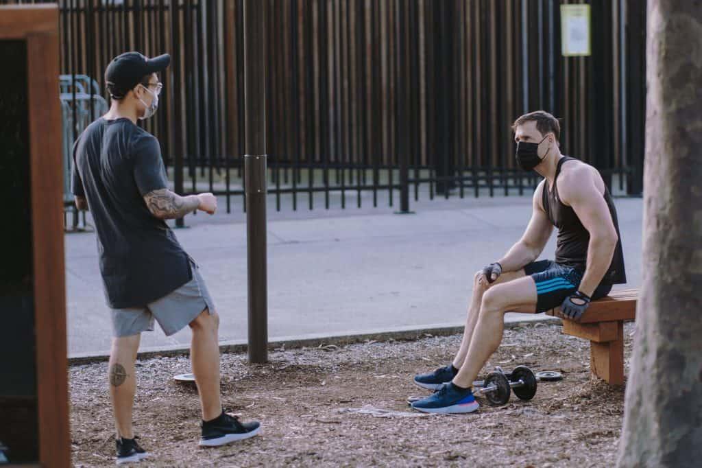 men outdoor