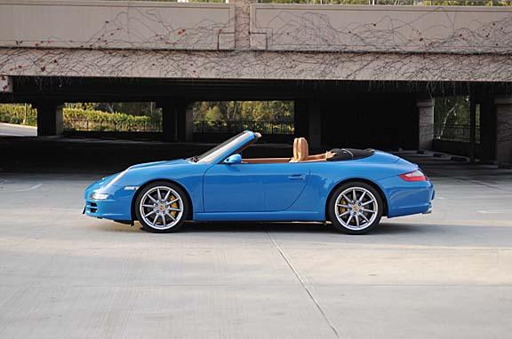 Porsche 911 Cabriolet car