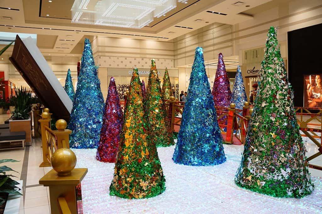 Counterfeit Christmas trees