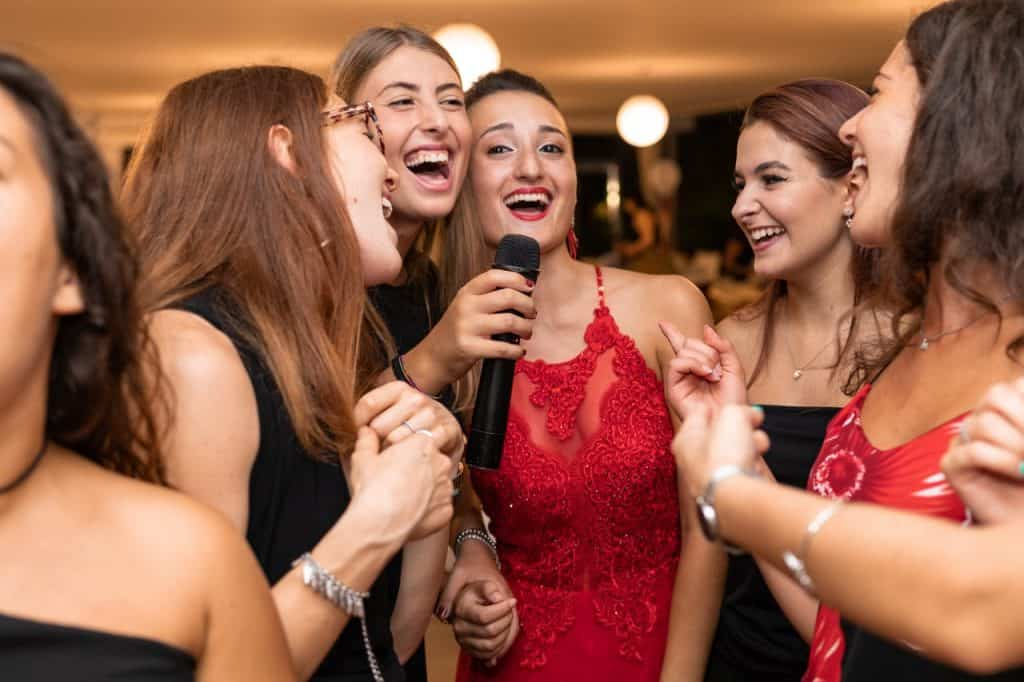 Women at Hen Party