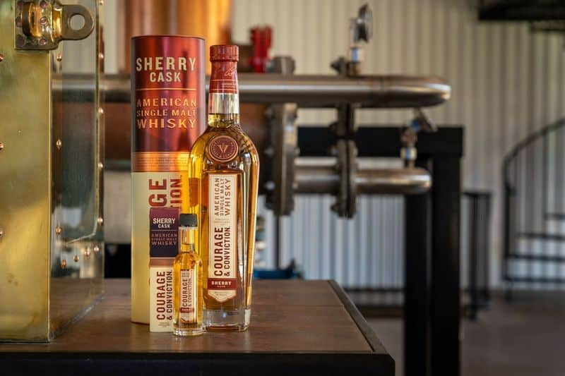 Courage & Conviction American Single Malt Whisky from Virginia Distillery Company