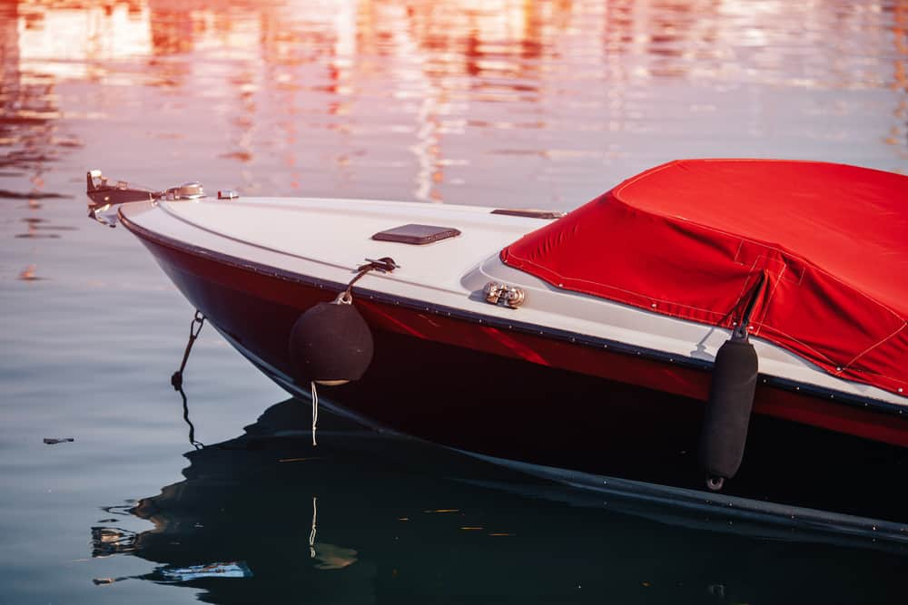 Red Boat Cover