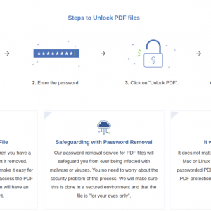 Cracking Password Protected PDF Files via PDFBear: Simple Steps to Follow