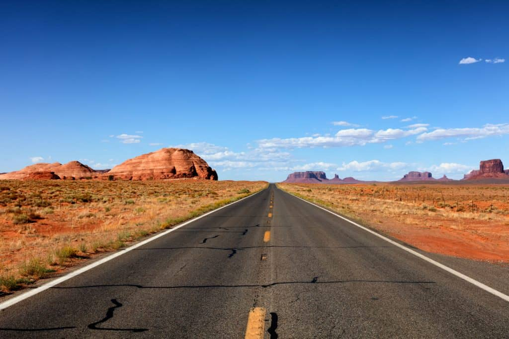 Highway to grand canyon